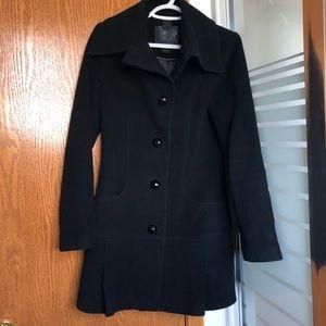 MACKAGE   black wool coat